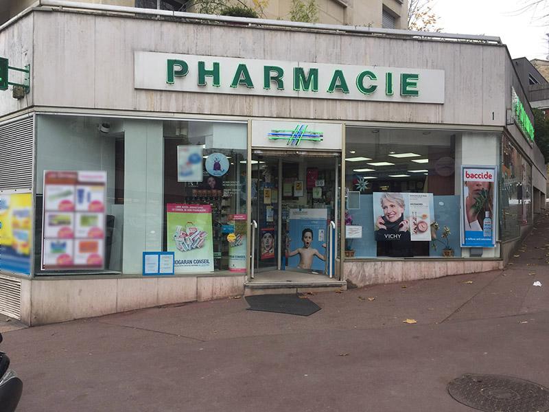 Pharmacie CENTRALE DE GENTILLY